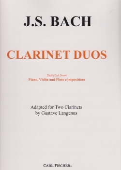 CLARINET DUOS