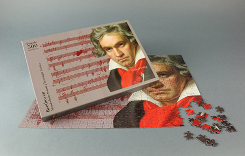 JIGSAW PUZZLE Beethoven