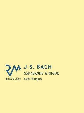 SARABANDE AND GIGUE BWV 1008
