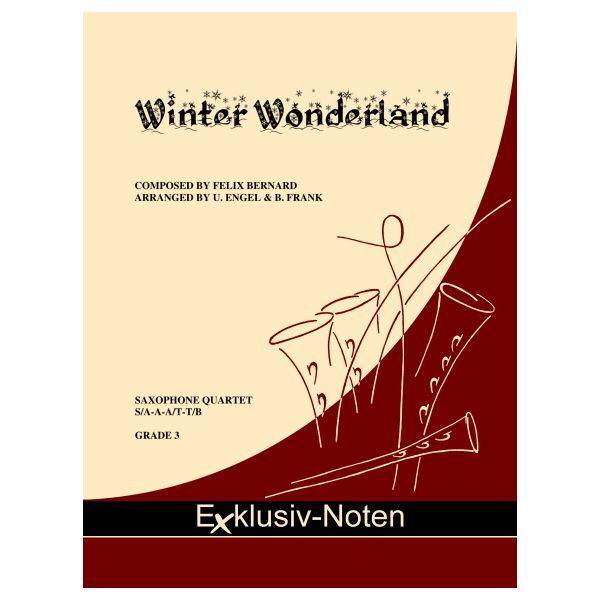 WINTER WONDERLAND (score & parts)