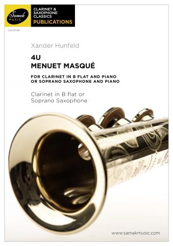 4U Menuet Masque (score)