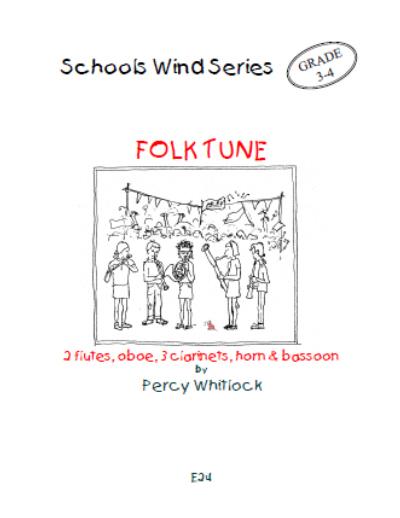 FOLK TUNE (score & parts)