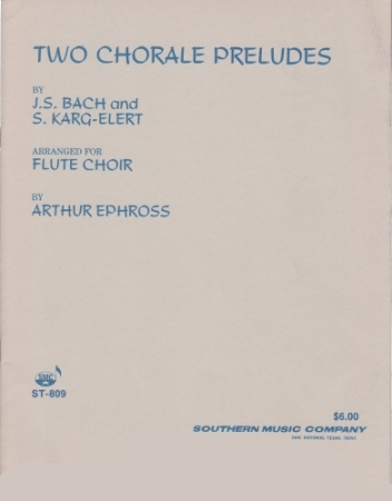 TWO CHORALE PRELUDES