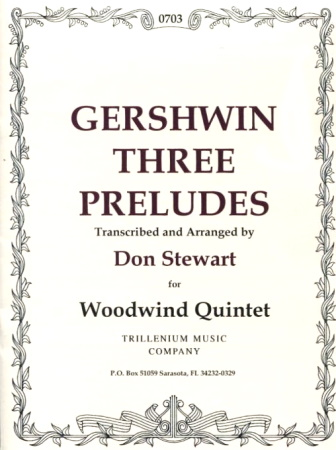 THREE PRELUDES score and parts