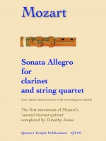 SONATA ALLEGRO (score & parts)