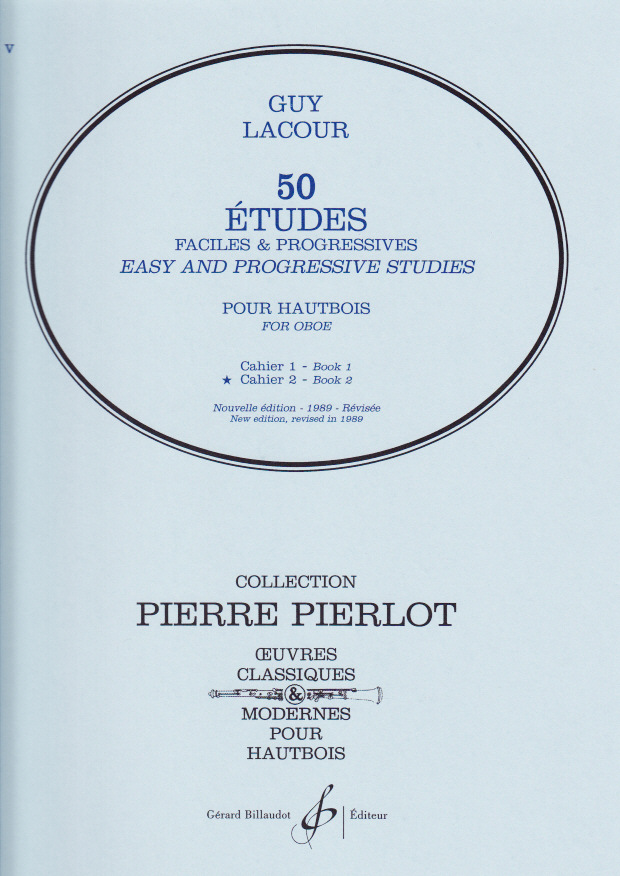 50 ETUDES FACILES ET PROGRESSIFS Volume 2