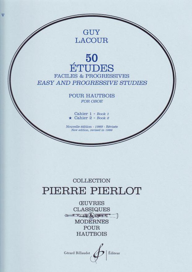 50 ETUDES FACILES ET PROGRESSIFS Volume 2