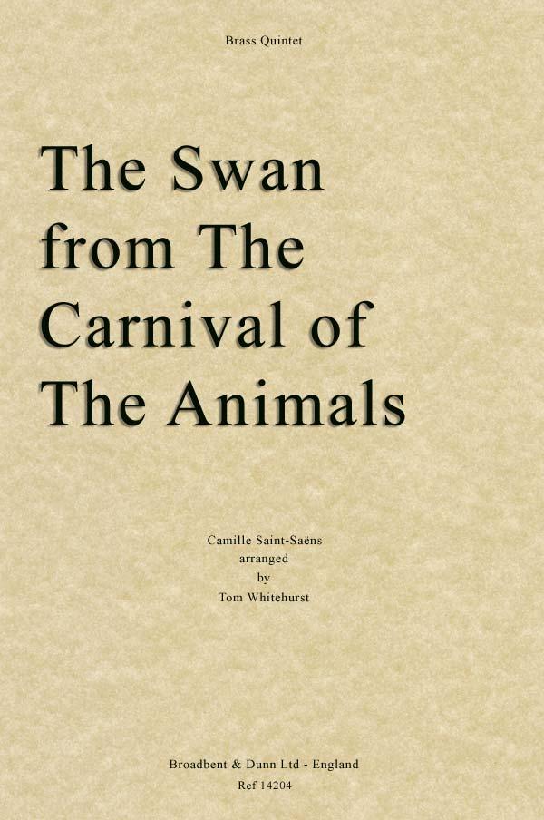 THE SWAN (score & parts)