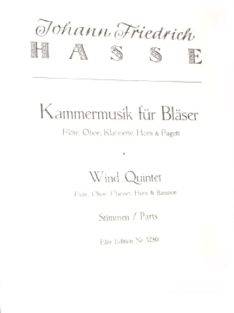 CHAMBER MUSIC FOR WINDS (set of parts)