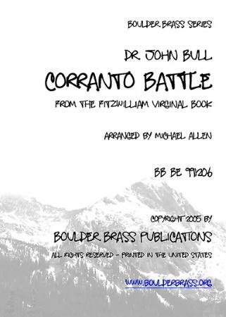 CORRANTO BATTLE score & parts