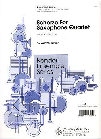 SCHERZO (score & parts)