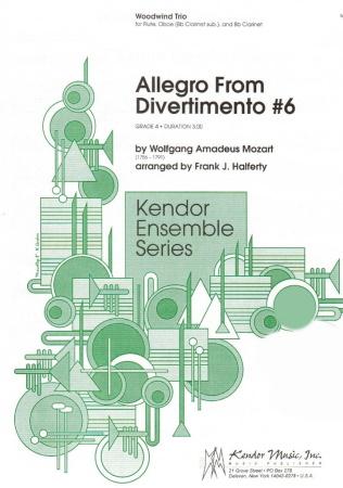 ALLEGRO (score & parts)