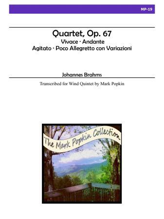 QUARTET Op.67 (score & parts)