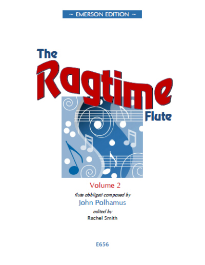 THE RAGTIME FLUTE Volume 2 - Digital Edition