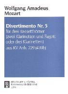 DIVERTIMENTO No.5 KV229 (439b)