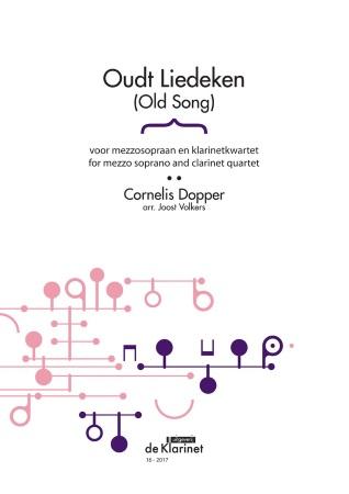 OUDT LIEDEKEN (score & parts)