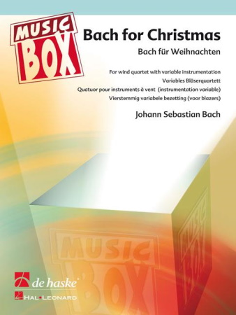 BACH FOR CHRISTMAS score & parts