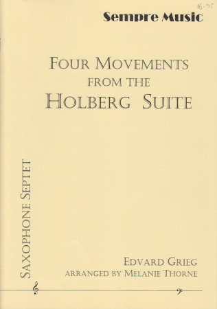 FOUR MOVEMENTS FROM THE HOLBERG SUITE (score & parts)