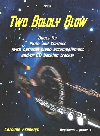TWO BOLDLY BLOW + CD