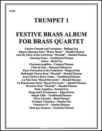 FESTIVE BRASS ALBUM 1st Trumpet