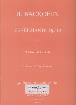 CONCERTANTE Op.10