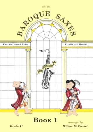 BAROQUE SAXES Book 1: Handel & Vivaldi (score & parts)