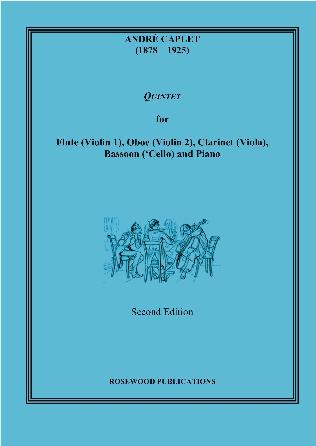 QUINTET (piano score & parts)
