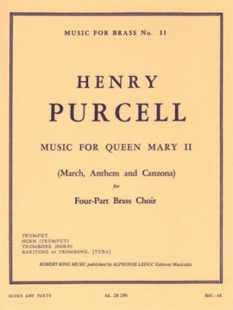 MUSIC FOR QUEEN MARY II (score & parts)