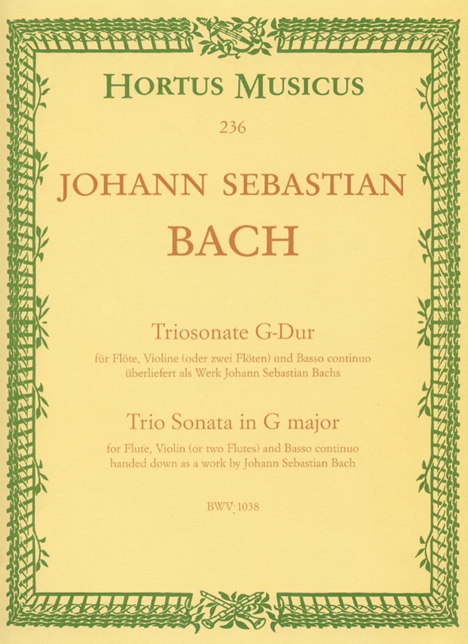 TRIO SONATA in G major BWV 1038