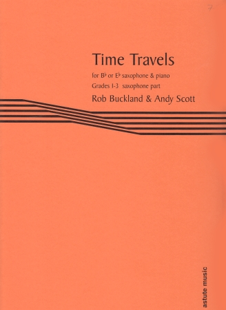 TIME TRAVELS Piano Part for Eb Saxophone