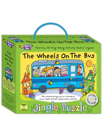 JINGLE PUZZLE The Wheels On The Bus