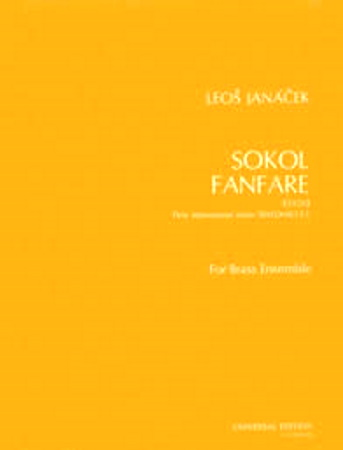 SOKOL FANFARE (score & parts)