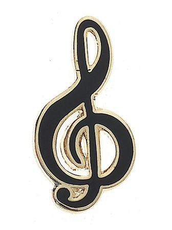 MINI PIN Treble Clef