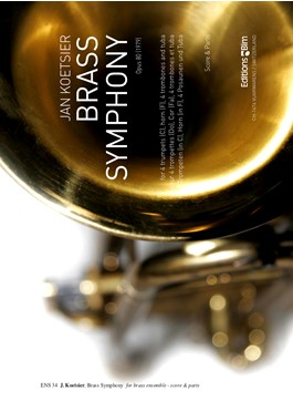 BRASS SYMPHONY Op.80 (score & parts)