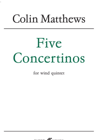 FIVE CONCERTINOS set of parts