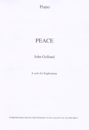 PEACE (treble/bass clef)