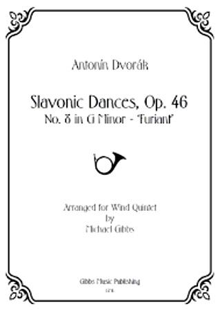 SLAVONIC DANCE Op.46 No.8 (score & parts)