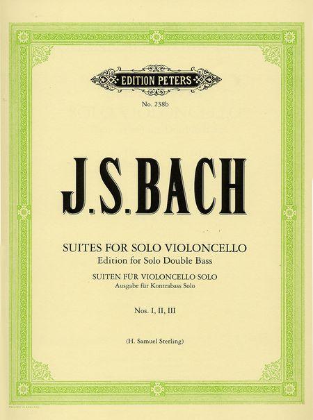 SUITES BWV 1007-1012