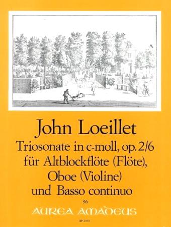TRIO SONATA in C minor Op.2 No.6