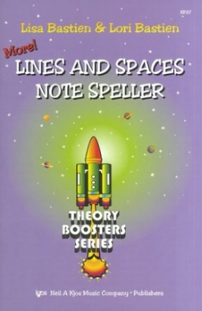 MORE! LINES AND SPACES NOTE FILLER