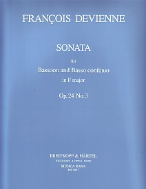 SONATA in F major Op.24 No.3