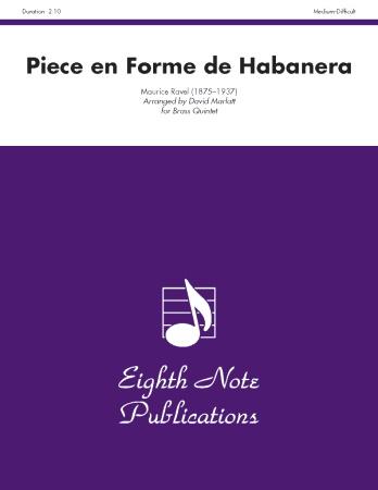 PIECE EN FORME DE HABANERA