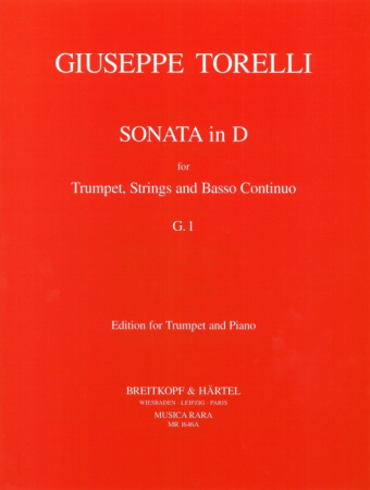 SONATA in D major, G.1