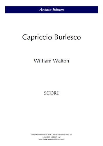 CAPRICCIO BURLESCO (score)