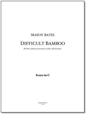 DIFFICULT BAMBOO piano score & parts