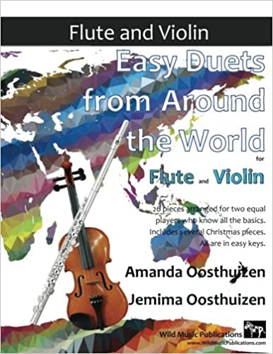 EASY DUETS FROM AROUND THE WORLD for Flute & Violin