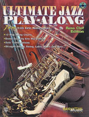ULTIMATE JAZZ PLAYALONG + CD (bass clef)