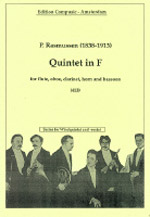 QUINTET in F major (score & parts)