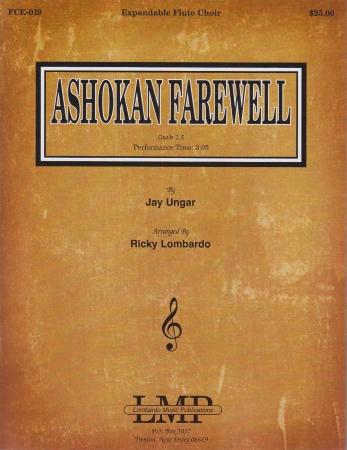 ASHOKAN FAREWELL (score & parts)