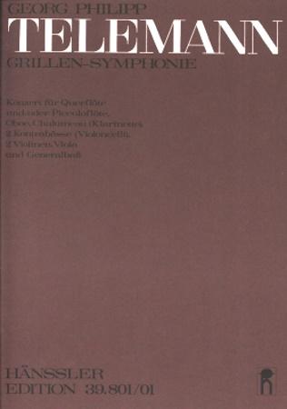 GRILLEN-SYMPHONIE (Concerto) score